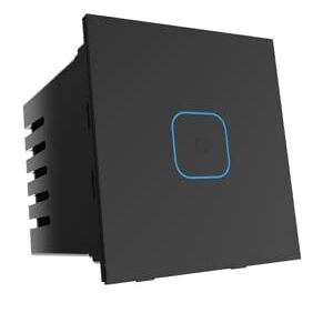 Smart Life | Wifi + Bluetooth 1 Touch Glass Smart Switch (B)